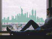 Fensterdesign | Fensteraufkleber New York | New York Motiv