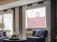 Sichtschutzfolie | Glasfolie Eule | Eulenmuster