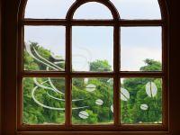 Fensterdekorfolie | Sticker Kaffeebohnen | Kaffeebohnenmuster