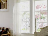 Glastattoo | Fensterfolie Frühlingsszene | Frühlingsszenenmotiv