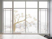 Fenstertattoo | Folie Baumkrone | Baumkronendesign