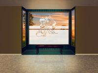 Sichtschutzfolie | Folie Einhorn-Fee | Einhorn-Fee-Motiv